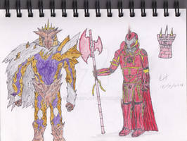 Scarlet Armies - The Imperial Guard! - Colour