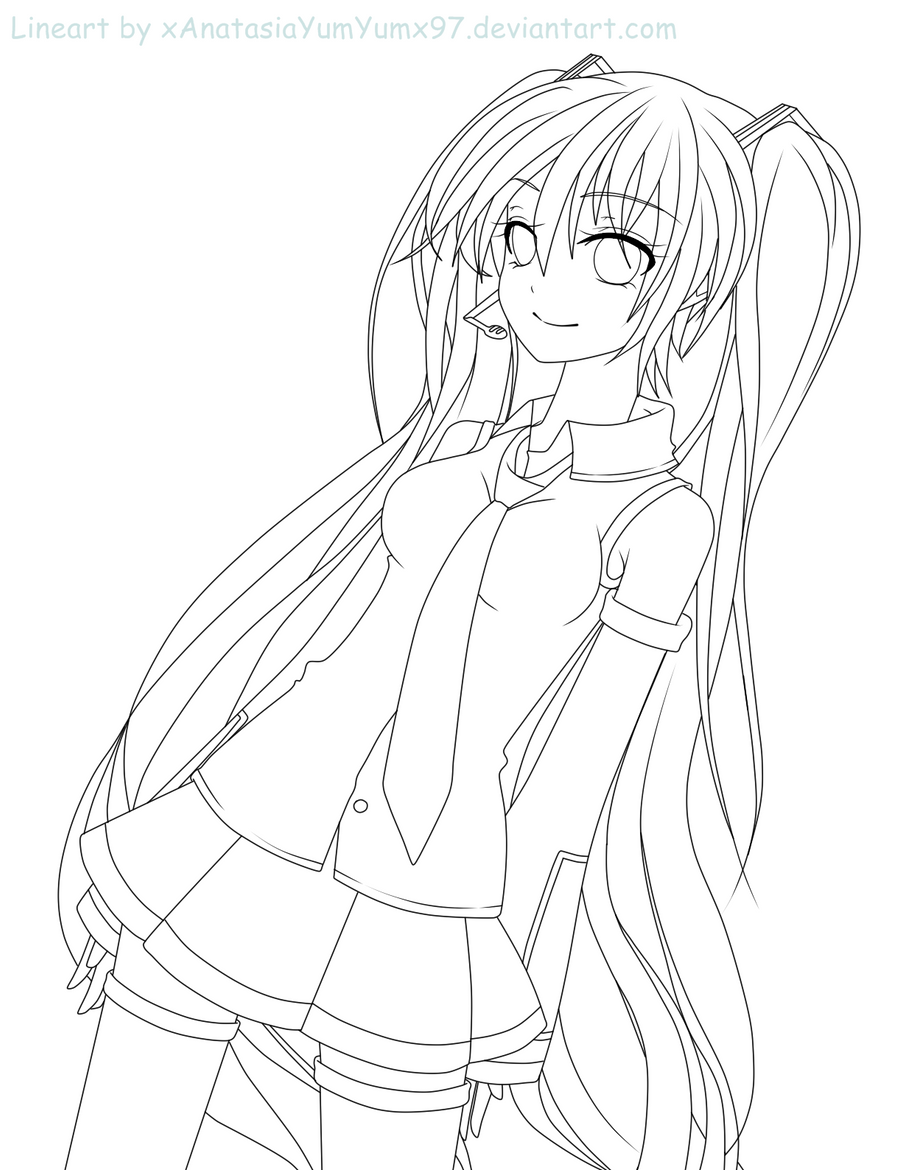 vocaloid coloring pages coloring pages