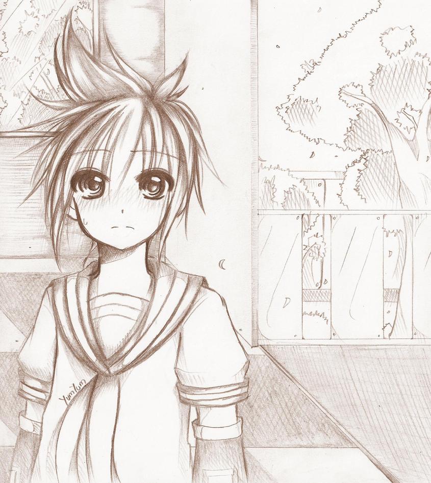 A Scene with Len by xYum-Yumx