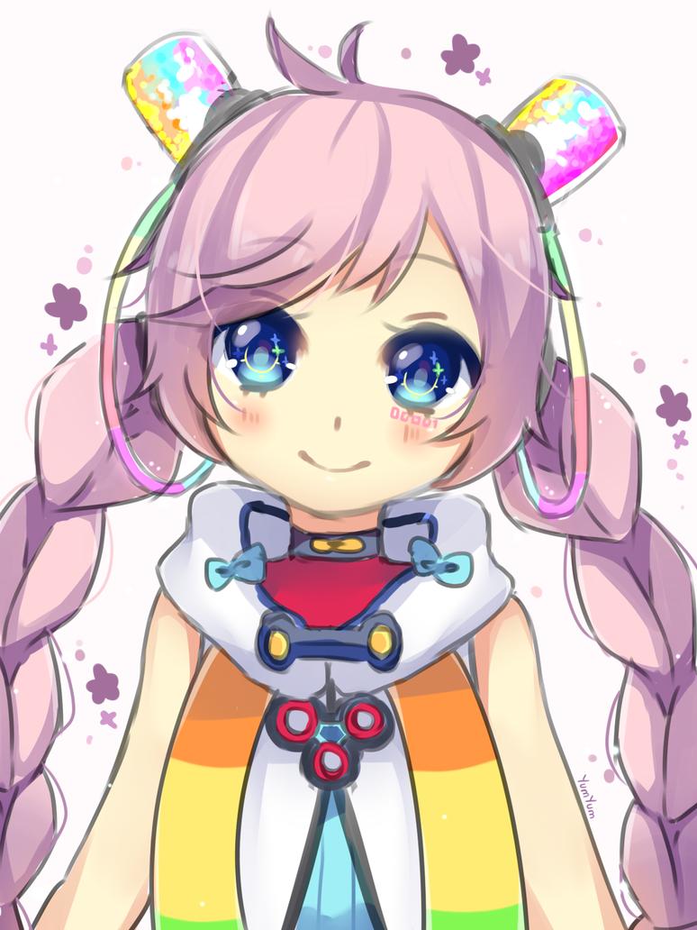 Vocaloid Rana by xYum-Yumx