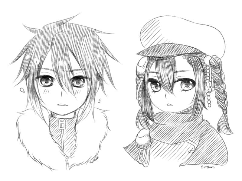 Sketch Bust by xYum-Yumx