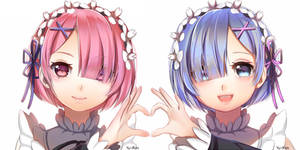 Re:Zero Ram and Rem