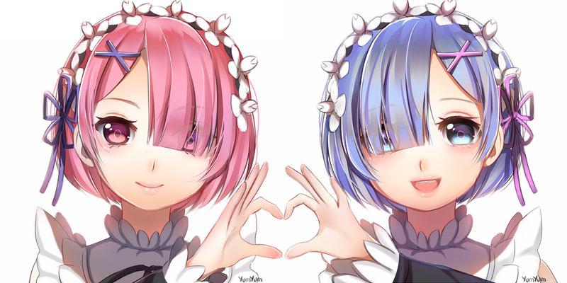 Re:Zero Ram and Rem