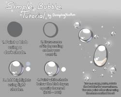 Simple Bubble Tutorial by DumplingYumYum