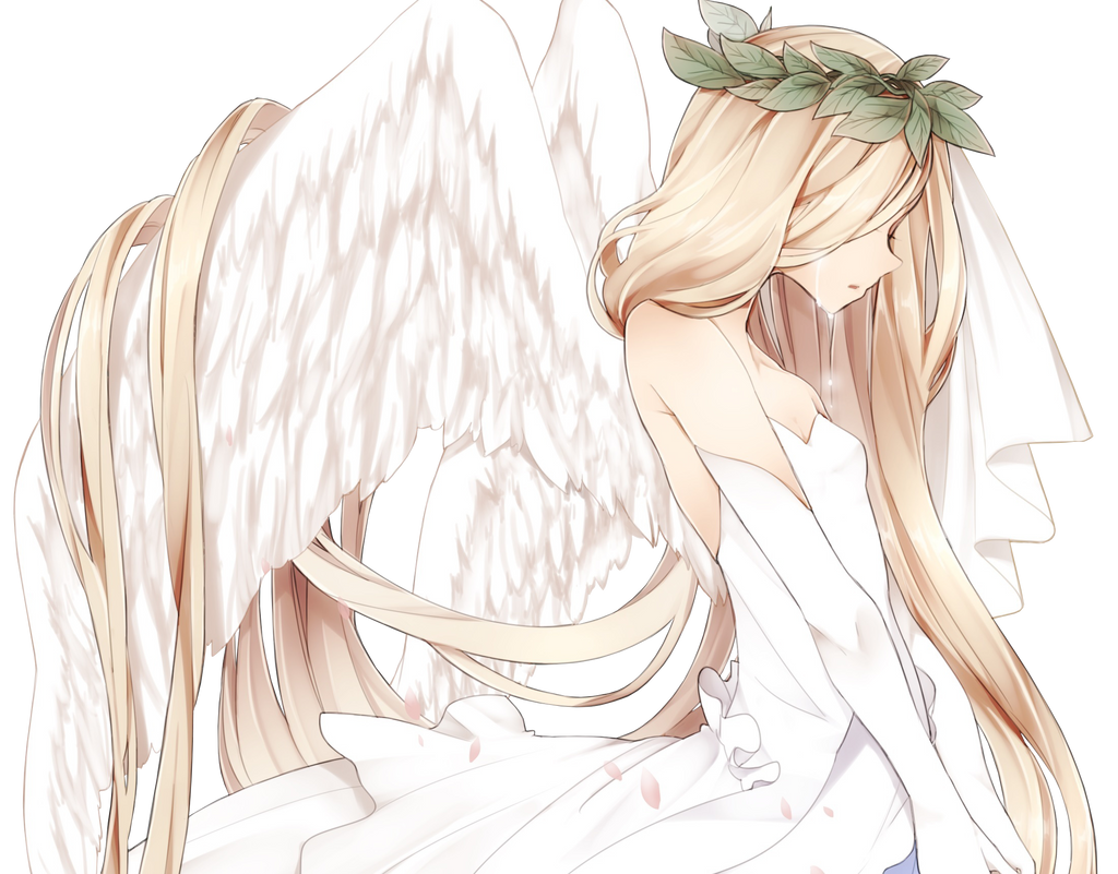 Crying Angel Render By AnimeRenders98 On DeviantArt