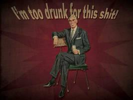 Too Drunk Dandy by necrosensual-art