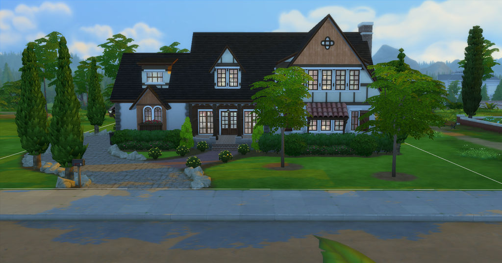 Classic American Tudor by BUILDSims