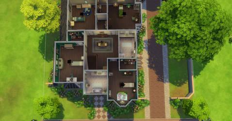 Greenville Floorplan Second Floor by BUILDSims