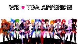 [MMD DL] We Love TDA Appends! (+Download Links!) by bluepixie02