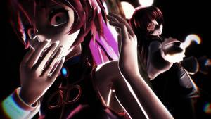 [MMD] Five Nights At Meiko's - Luka Meets Foxy