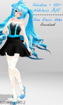 [Download] Valentine + Watchers Gift: Blue Miku DL