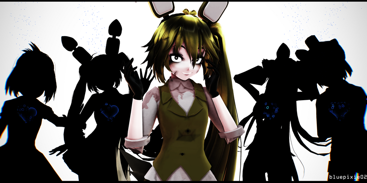 Mmd x fnaf shattered souls by bluepixie02 on deviantart