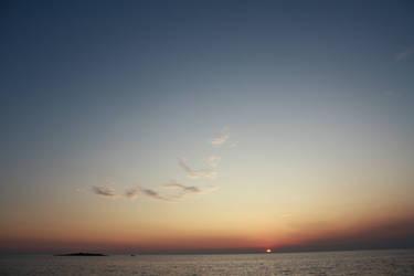 Sunset Sky 1 by pelleron-stock