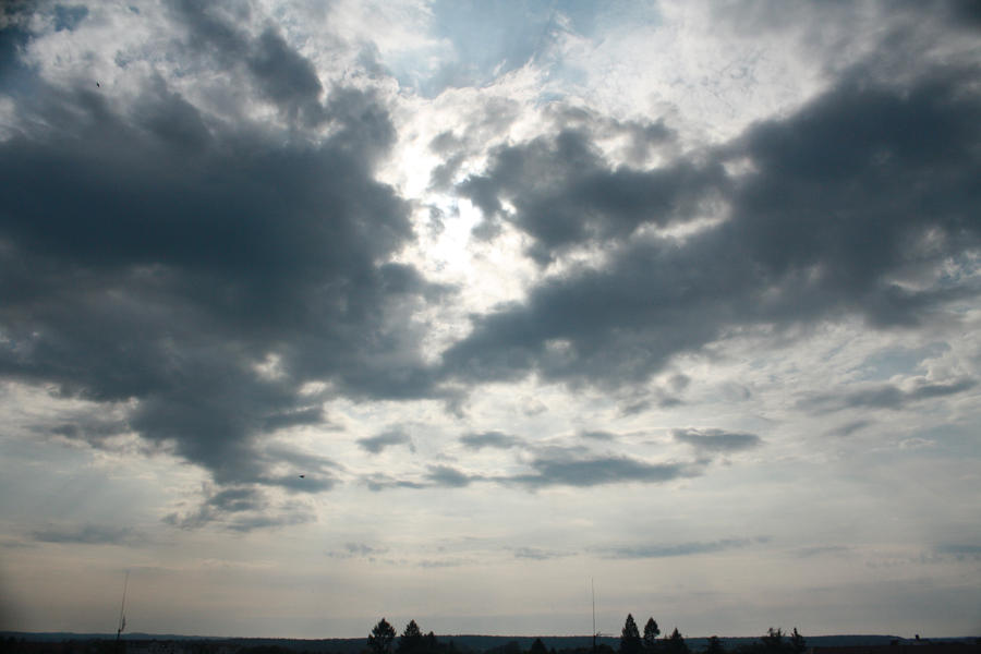 Stormy Sky 9 by pelleron-stock
