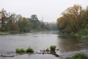 Misty River 03 by pelleron-stock