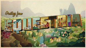 Greetings from Equestria