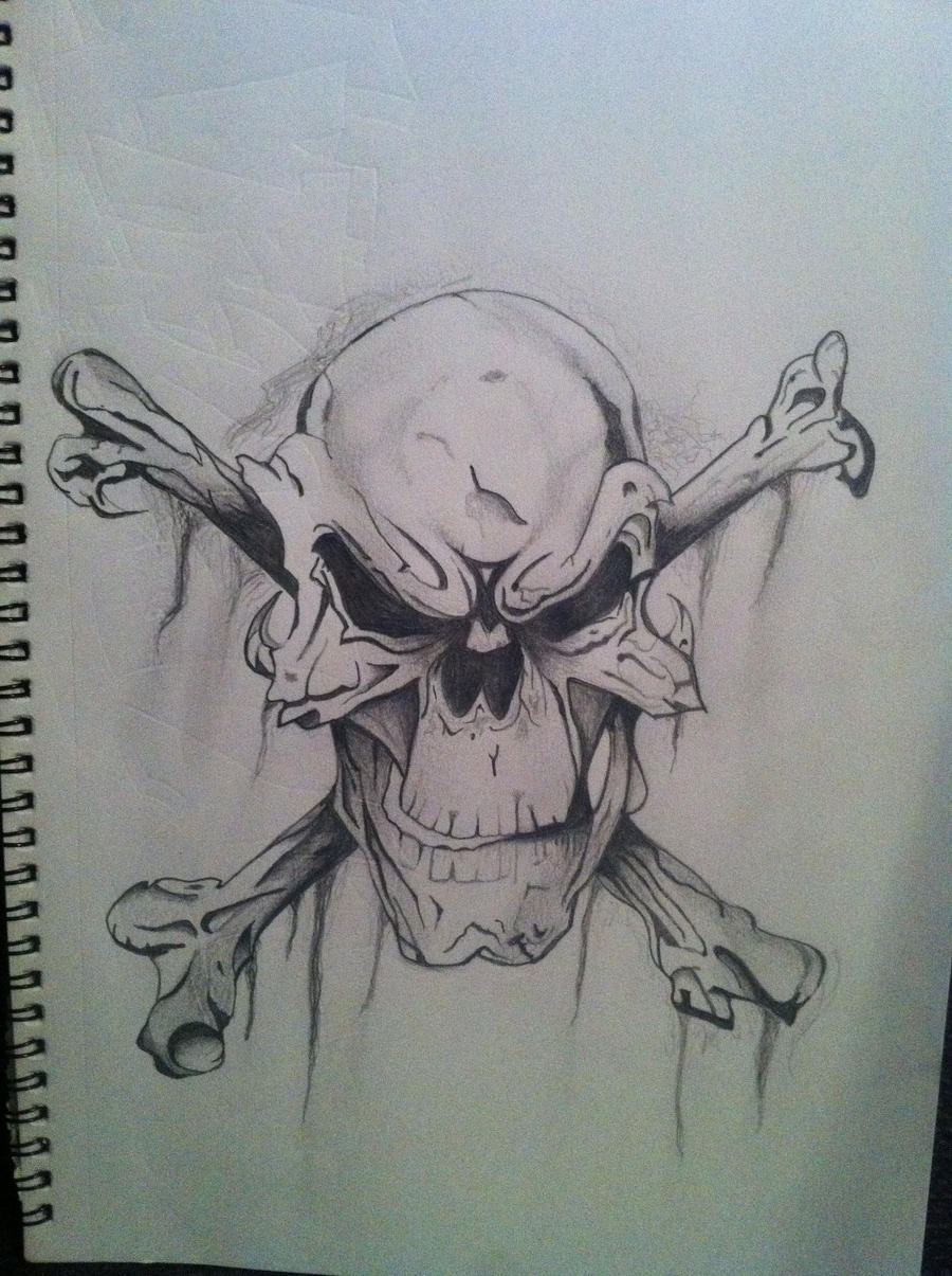 Evil skull by crude85 on DeviantArt