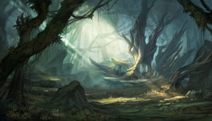Forest of labyrinth