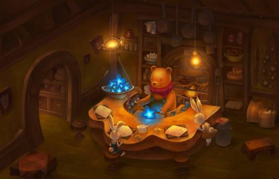A chef orange bear stories