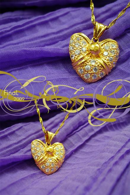 Gold Heart by o0FinaL0o