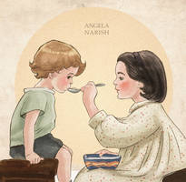 A Spoonful of sugar helps the medicine go down by Angela-Narish