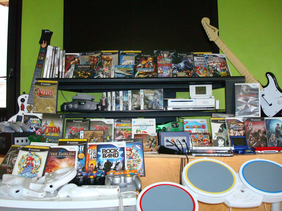 My Games, only Nintendo by Daniel-Link