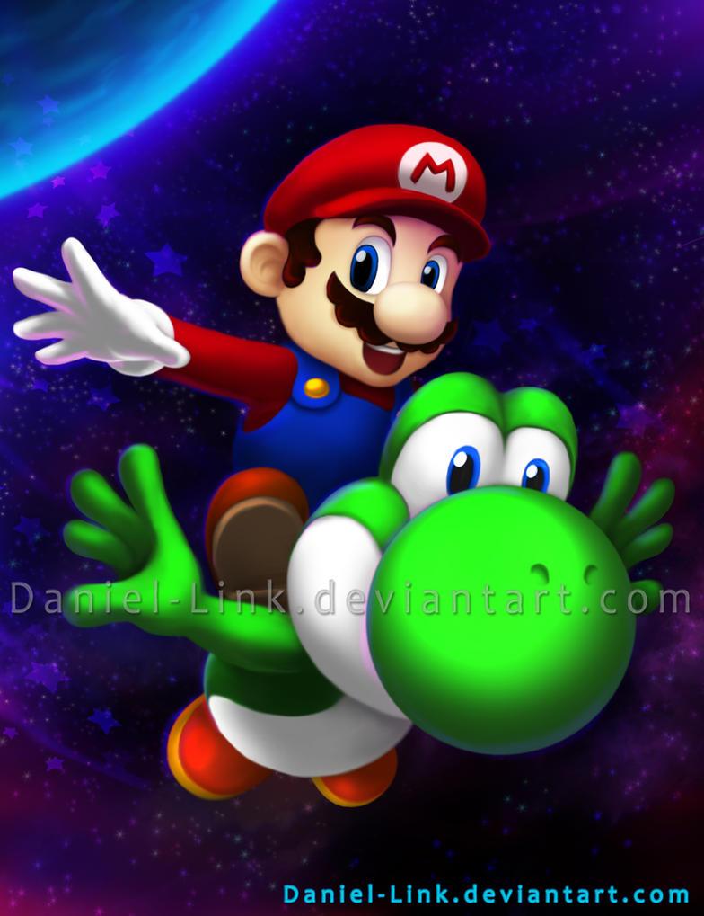 Super Mario Galaxy 2 by Daniel-Link