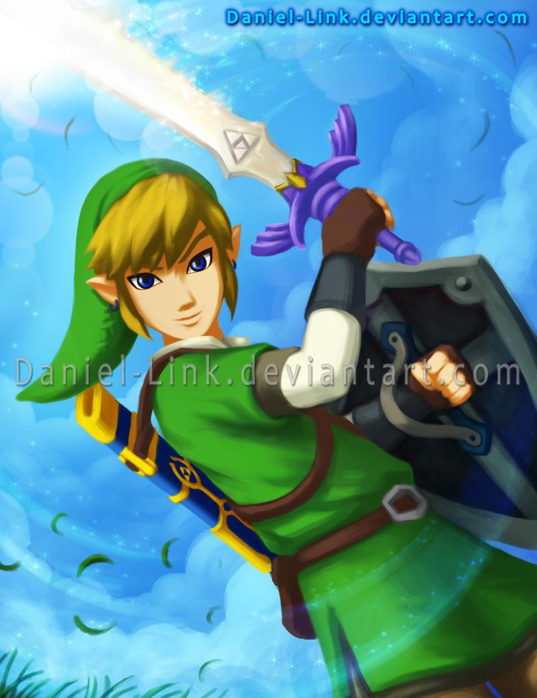 Link skyward sword by daniel link on deviantart - Link dans zelda ...