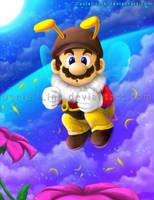 Bee Mario by Daniel-Link