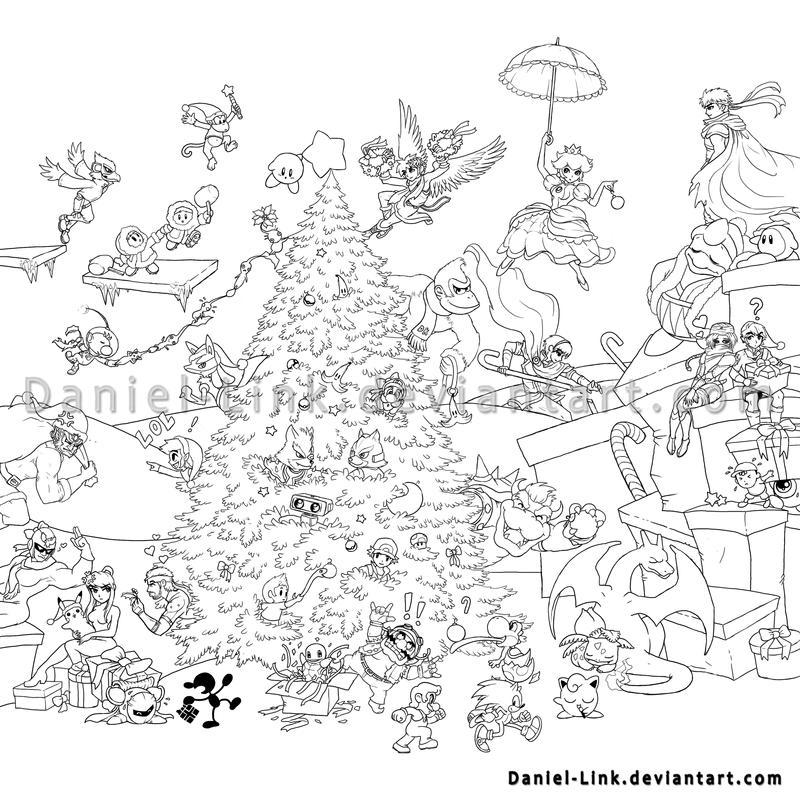 Pit Super Smash Bros Coloring Pages Coloring Pages