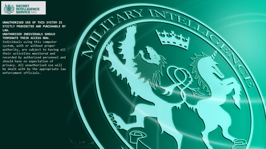Mi6 secret intelligence windows 8 lock screen by - Mi6 desktop wallpaper ...