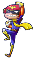 Request - Klyssa13 -- Captain Falcon