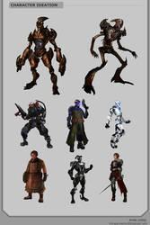 Character Variations by Showmeyourmoves