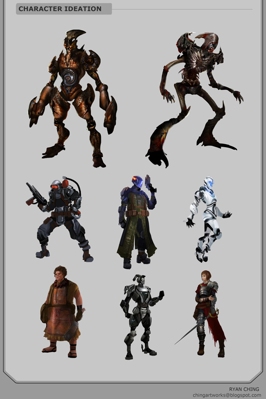 Character Variations by Showmeyourmoves