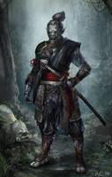 Orc Samurai! (For Brainstorm) by Showmeyourmoves