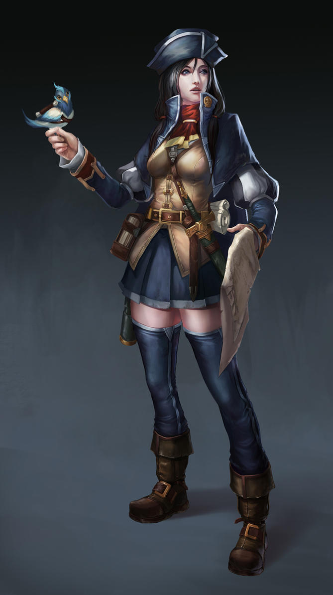 Tactician Scout Girl Re-Upload by Showmeyourmoves