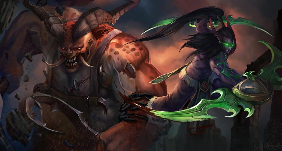 Hero of Storm FanArt by Showmeyourmoves