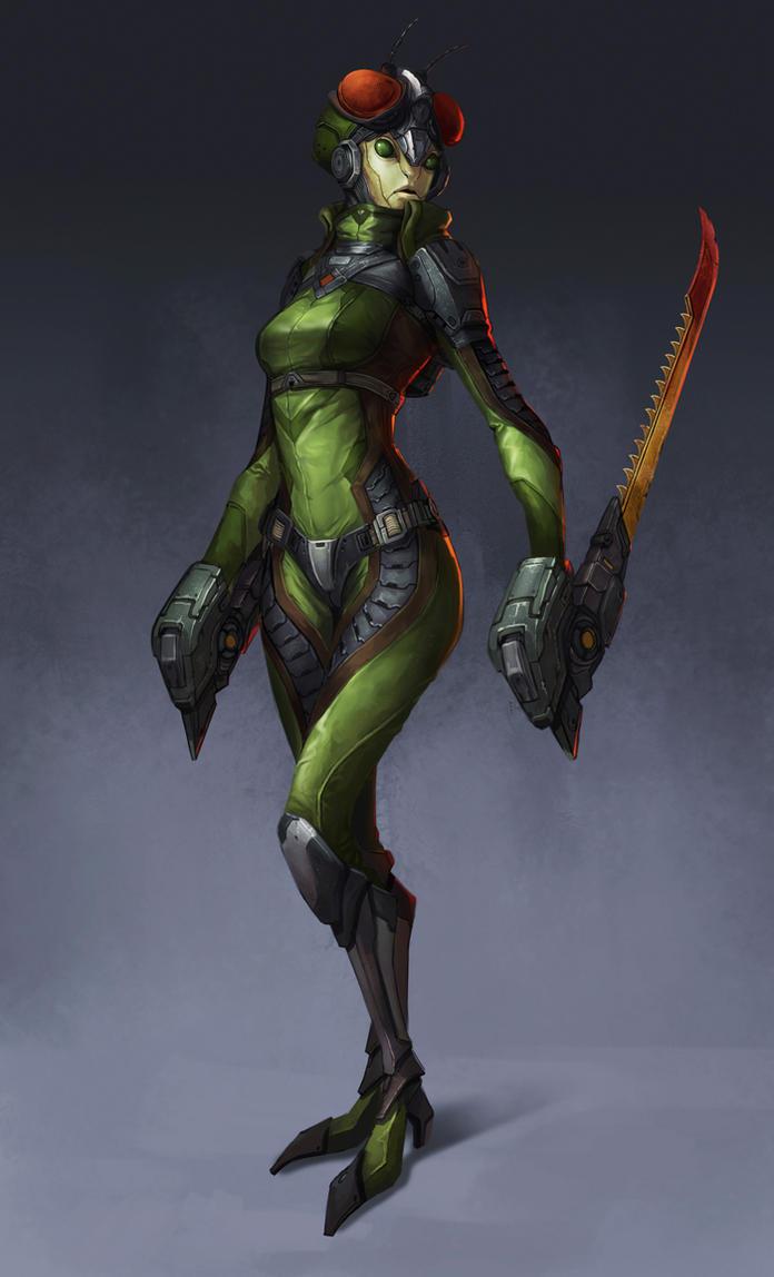 Mantis by Showmeyourmoves