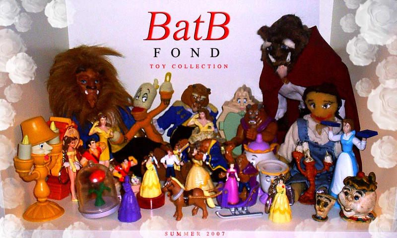Beauty and the Beast - toys