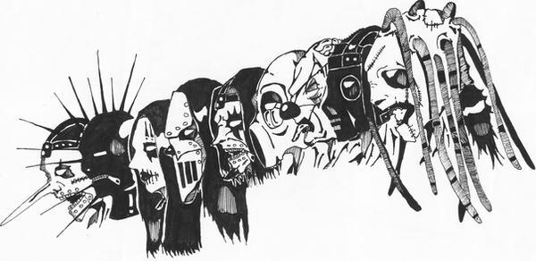 Slipknot Poster – Ben Fellowes | Art & Design