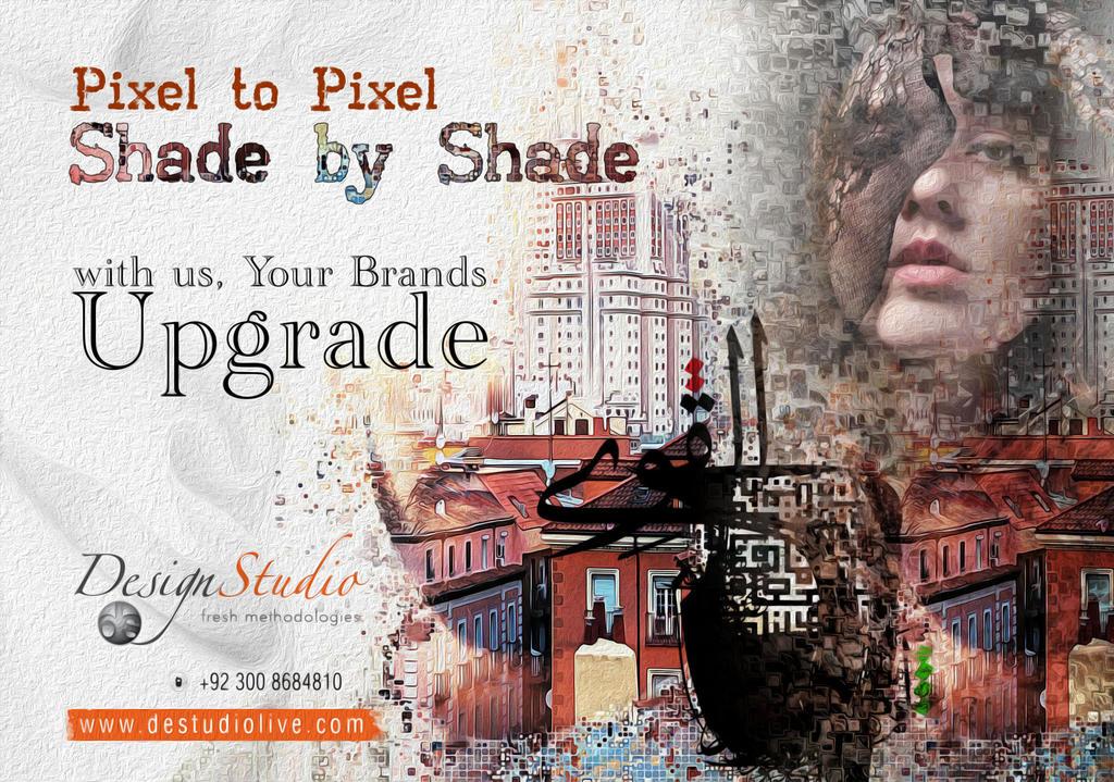 Design Studio Poster by Shaket
