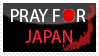 Pray for Japan by Clergna