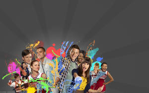 Glee WALLPAPER by Clergna