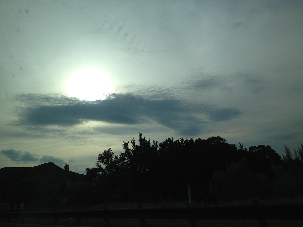 Cloud Ripples by echgrl