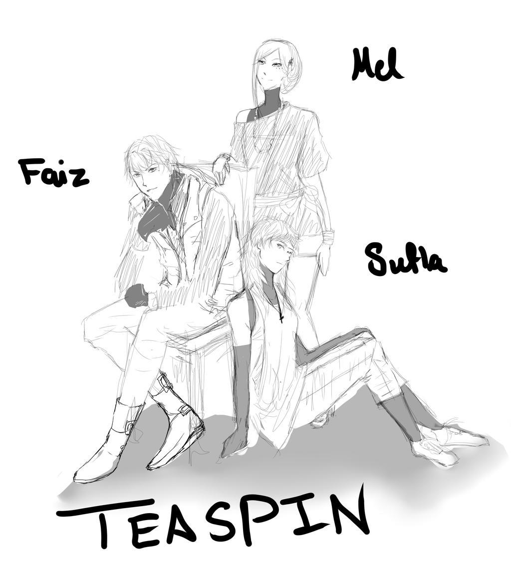 Teaspin family by monzaibu