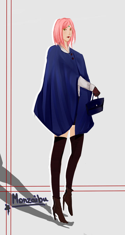 :Sakura: Winter Clothing by monzaibu