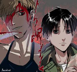 Killing Stalking :Fanart: by monzaibu
