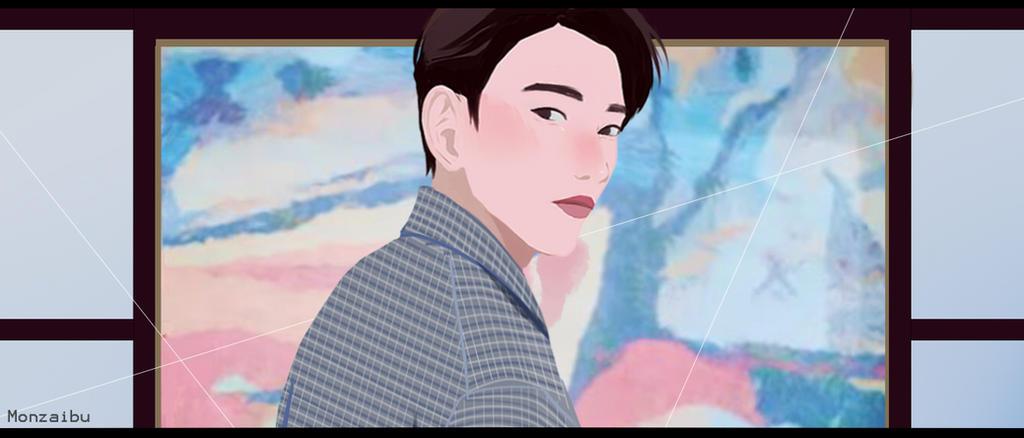 Jinyoung :Look: by monzaibu