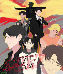 GOT7 World Tour 2018 by monzaibu