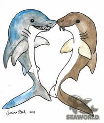 Shark Heart by fairyartemis